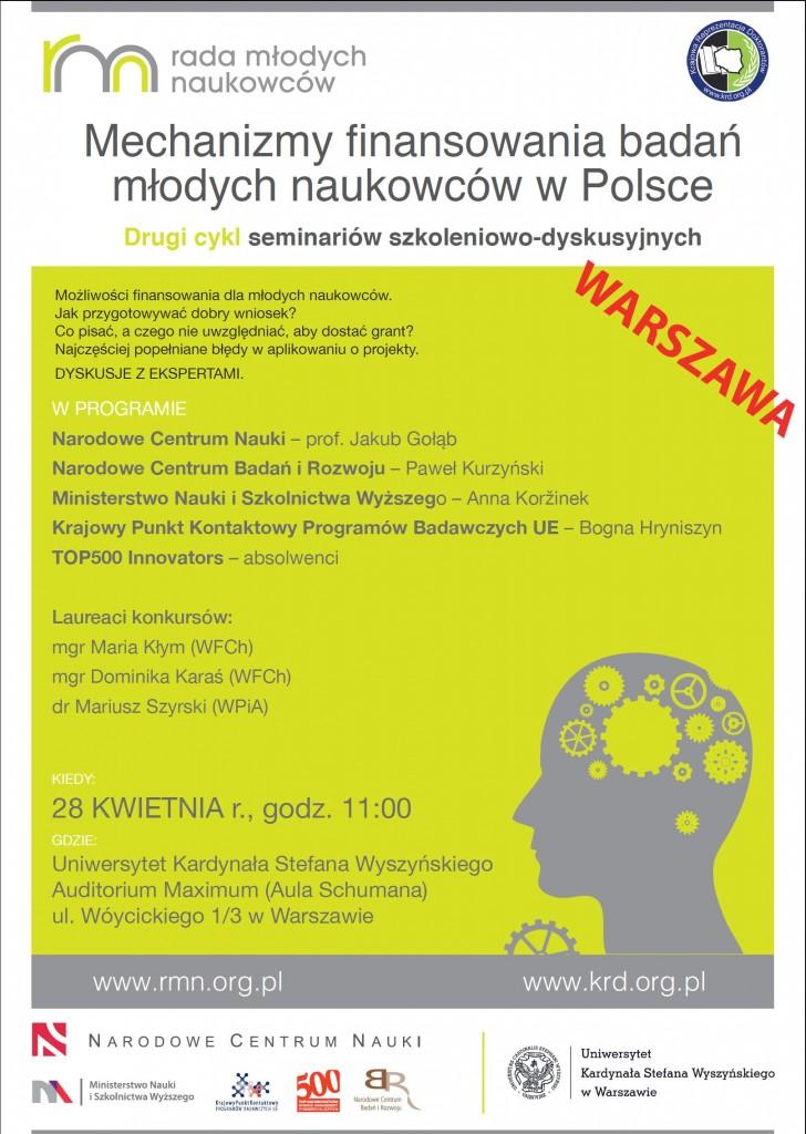 Seminarium nr 19 - Warszawa